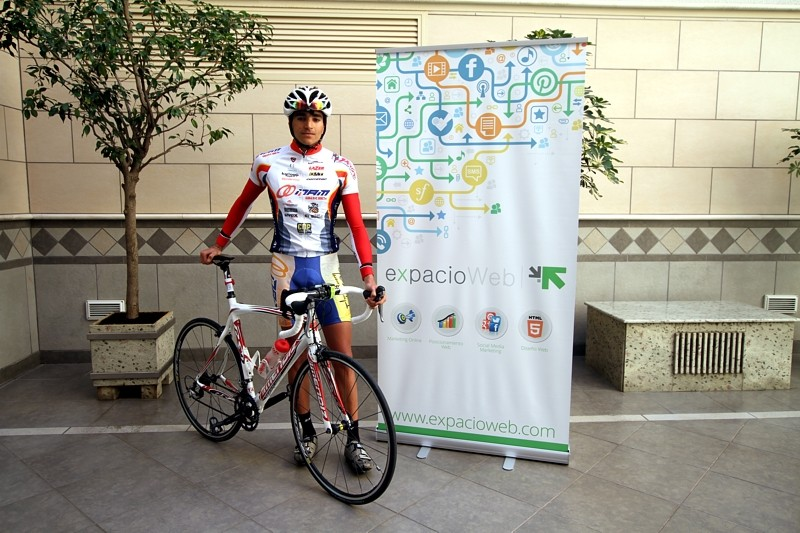 ExpacioWeb, patrocinador del triatleta David Jiménez Benavente
